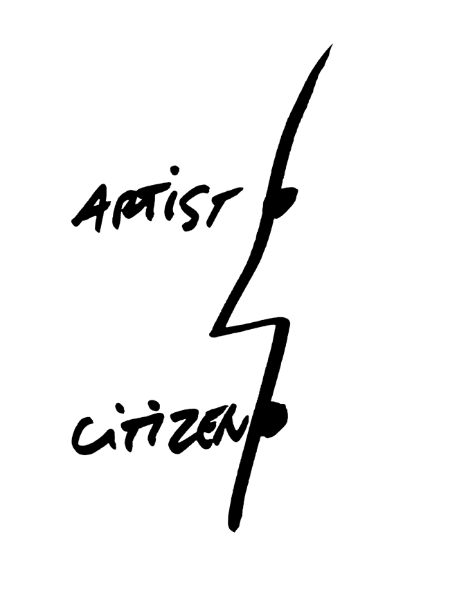 Artist Citizen, 2008 Artwork by Dan Perjovschi