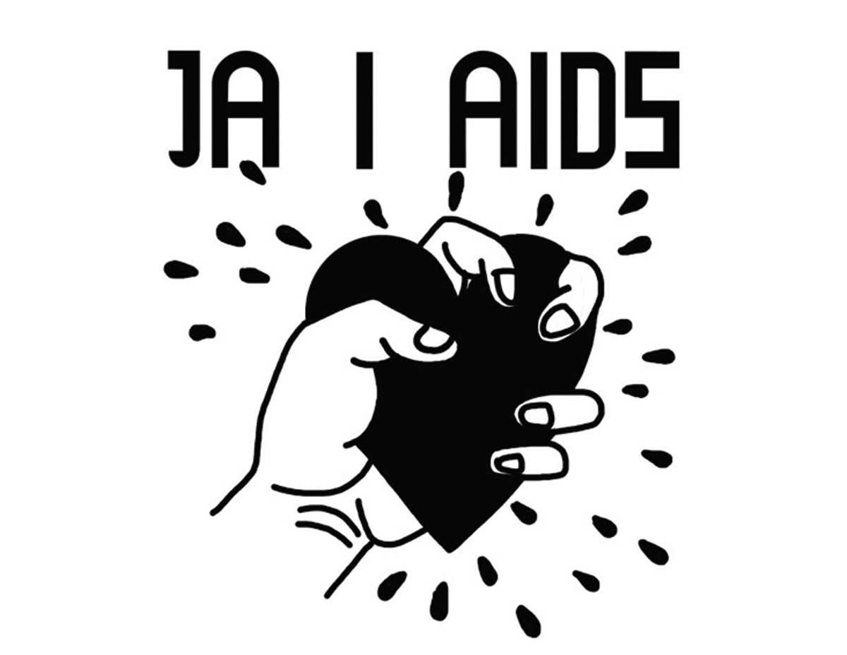 Marek Sobczyk, Me and AIDS, 1996. Courtesy of the artist.