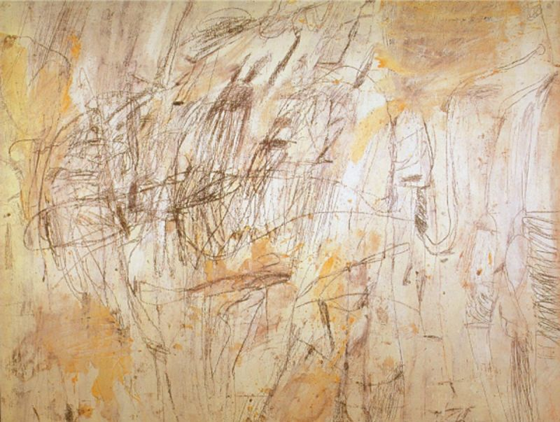 Cy Twombly, Untitled, 1954